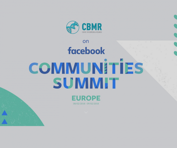 CBMR selected for the Facebook Communities Summit