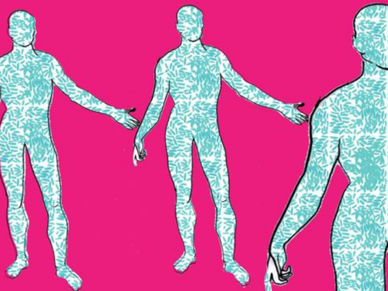 More than half your body is not human