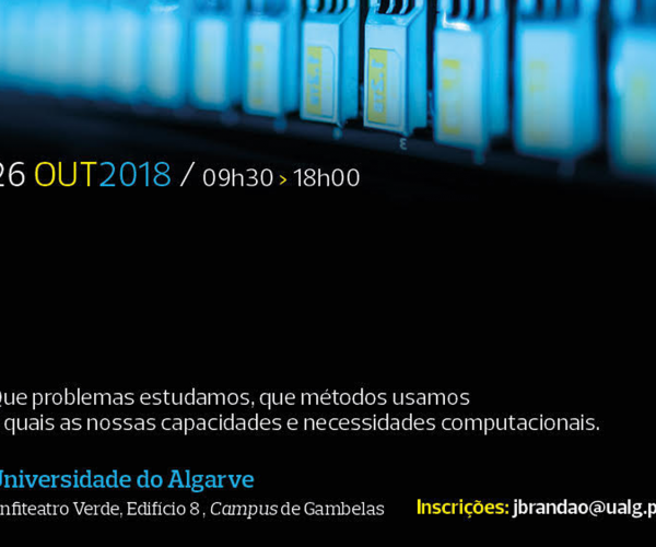 CBMR co-organizes 1º Meeting Computation in Science